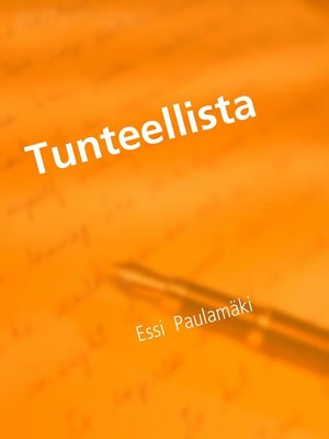 cover image of Tunteellista