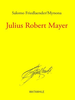 cover image of Julius Robert Mayer