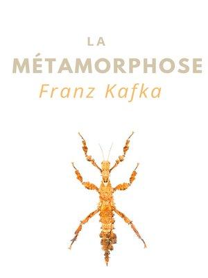 cover image of La Métamorphose