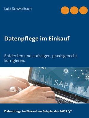 cover image of Datenpflege im Einkauf