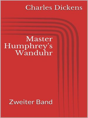 cover image of Master Humphrey's Wanduhr
