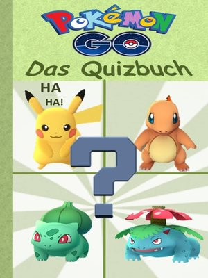 cover image of Pokemon GO--Das Quizbuch