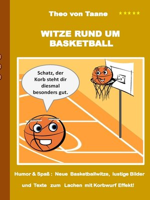 cover image of Witze rund um Basketball