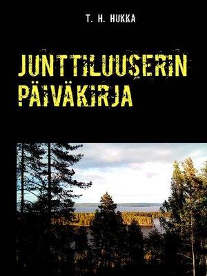 cover image of Junttiluuserin päiväkirja