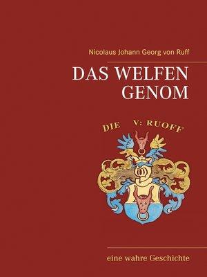 cover image of Das Welfen Genom