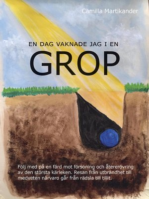 cover image of En dag vaknade jag i en GROP