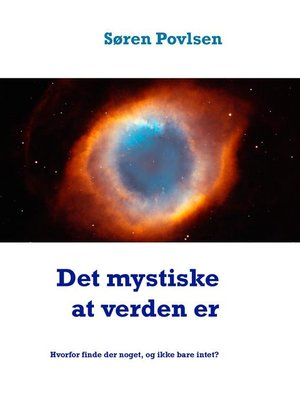 cover image of Det mystiske at verden er