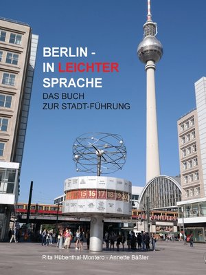 cover image of Berlin in leichter Sprache