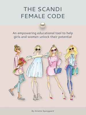 cover image of The Scandi Female Code