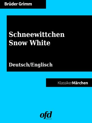 cover image of Schneewittchen--Snow White