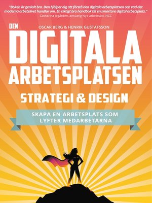 cover image of Den digitala arbetsplatsen--Strategi och design