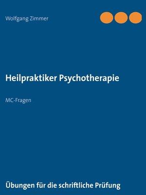cover image of Heilpraktiker Psychotherapie