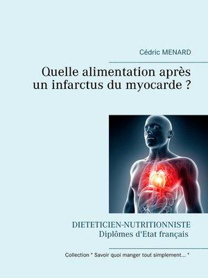 cover image of Quelle alimentation après un infarctus du myocarde ?
