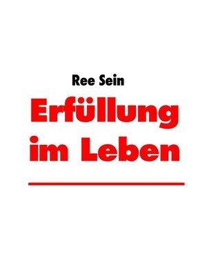 cover image of Erfüllung im Leben