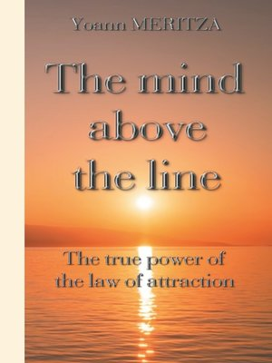 cover image of The mind above the line