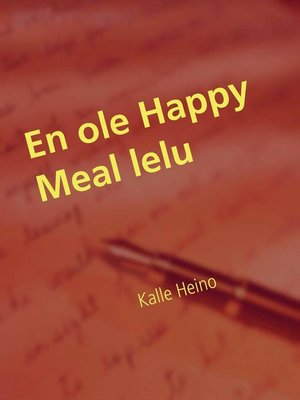 cover image of En ole Happy Meal lelu