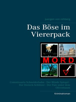 cover image of Das Böse im Viererpack