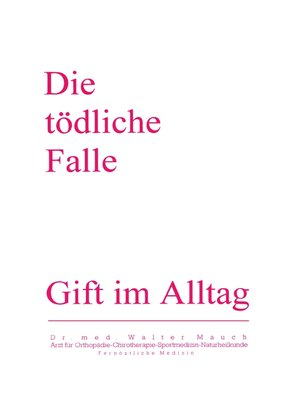 cover image of Die Tödliche Falle