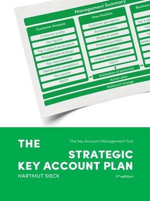 cover image of The Strategic Key Account Plan