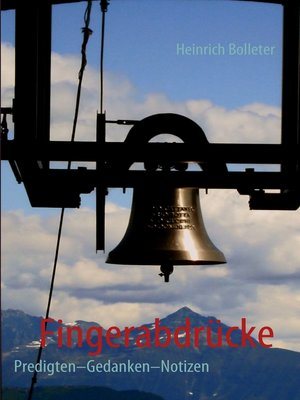 cover image of Fingerabdrücke