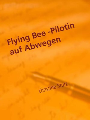 cover image of Flying Bee -Pilotin auf Abwegen