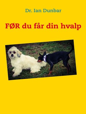 cover image of FØR du får din hvalp