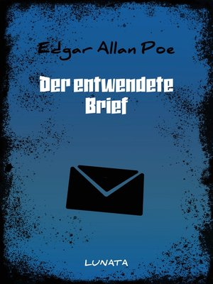 cover image of Der entwendete Brief