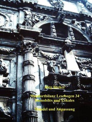 cover image of Standortbilanz Lesebogen 34 Immobilien und Lokales