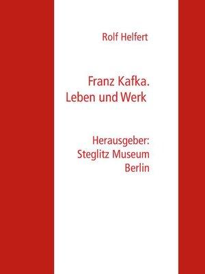 cover image of Franz Kafka.