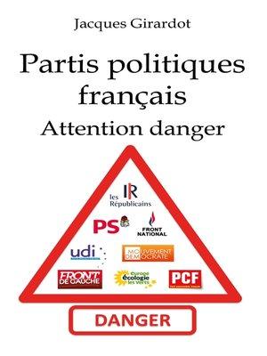cover image of Les partis politiques français