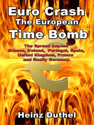cover image of Euro Crash. the European Time Bomb.