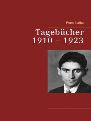 cover image of Tagebücher 1910 – 1923
