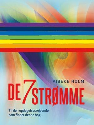 cover image of De 7 strømme