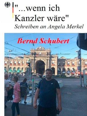 "cover image of ""... wenn ich Kanzler wäre"""