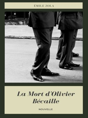 cover image of La Mort d'Olivier Bécaille