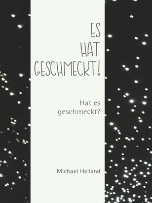 cover image of Es hat geschmeckt!