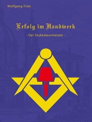cover image of Erfolg im Handwerk--Der Stukkateurmeister