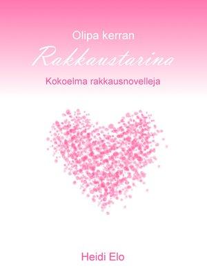 cover image of Olipa kerran rakkaustarina