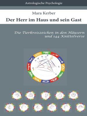 cover image of Der Herr im Haus und sein Gast