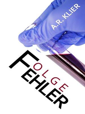 cover image of Folgefehler