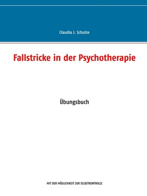 cover image of Fallstricke in der Psychotherapie