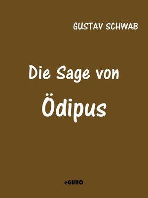 cover image of Die Sage von Ödipus