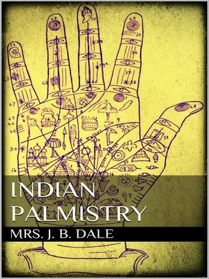 cover image of Indian Palmistry