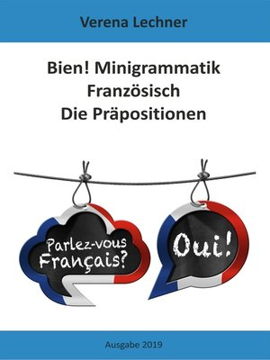 cover image of Bien! Minigrammatik Französisch
