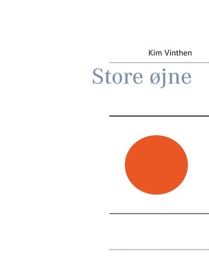 cover image of Store øjne
