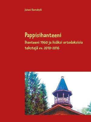 cover image of Pappisihanteeni