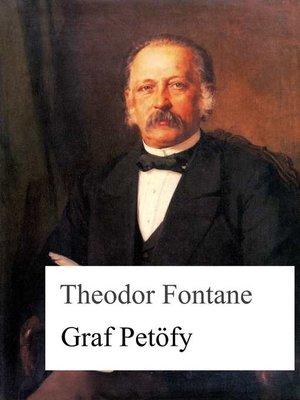 cover image of Graf Petöfy