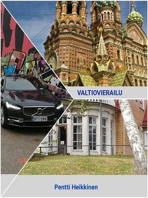 cover image of Valtiovierailu