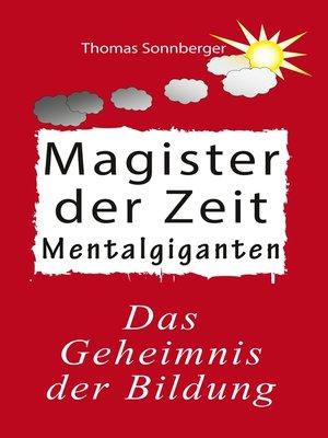 cover image of Magister der Zeit