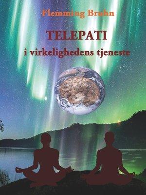 cover image of Telepati i virkelighedens tjeneste